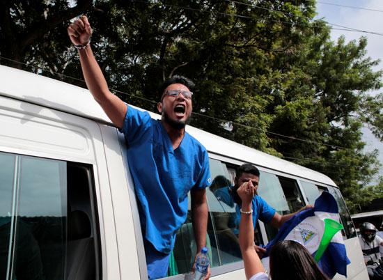 اطلاق سراح مسجونين سياسيين فى نيكاراجوا