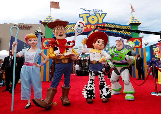 دمى شخصيات فيلم Toy story 4