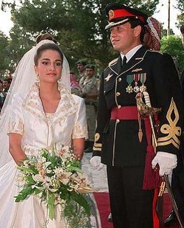 زفاف العاهل الأردنى الملك عبدالله والملكة رانيا  (1)
