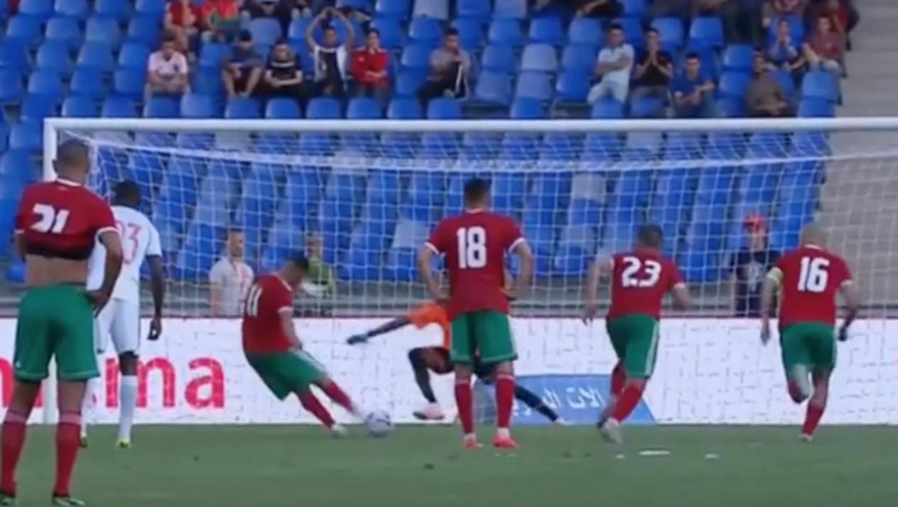 مباراة المغرب وجامبيا