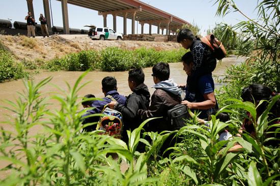 مهاجرين غير شرعيين من هندوراس