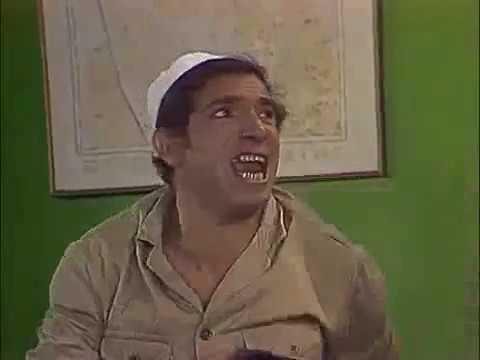 محمد عوض في مسرحية راسب مع مرتبة الشرف