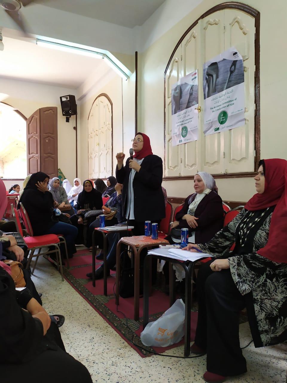 القومى للمرأة بالشرقية ينظم قوافل توعية فى اليوم الوطني لمناهضة ختان الإناث (8)
