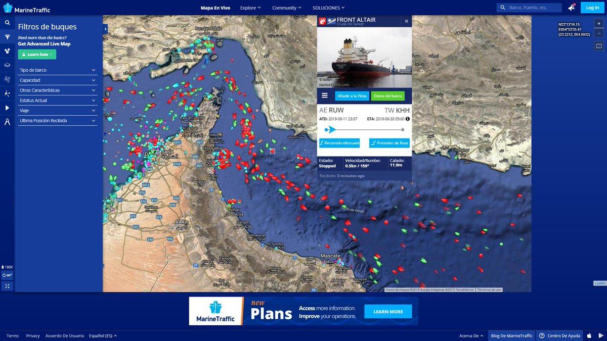 بيانات توضيحية حول ضرب ناقلتى نفط فى خليج عمان (3)