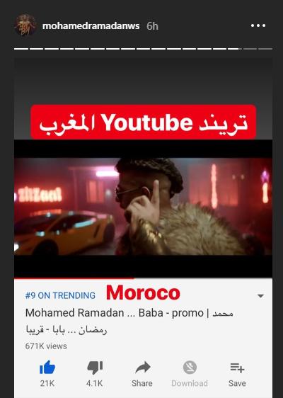 بابا تريند فى المغرب
