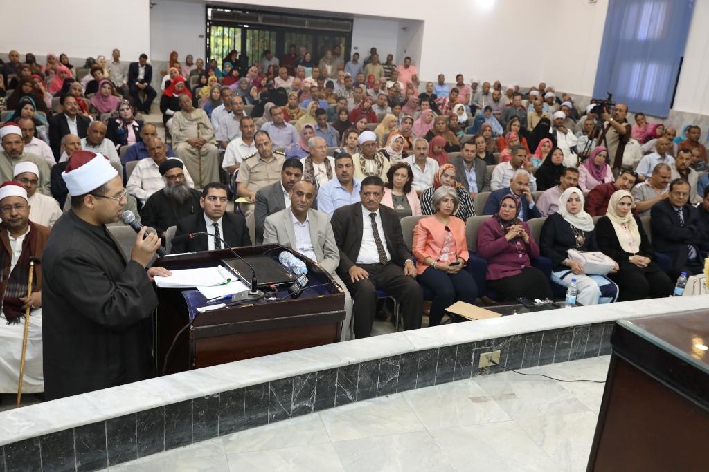 المحافظ يفتتح مؤتمر مناهضة ختان الإناث (6)