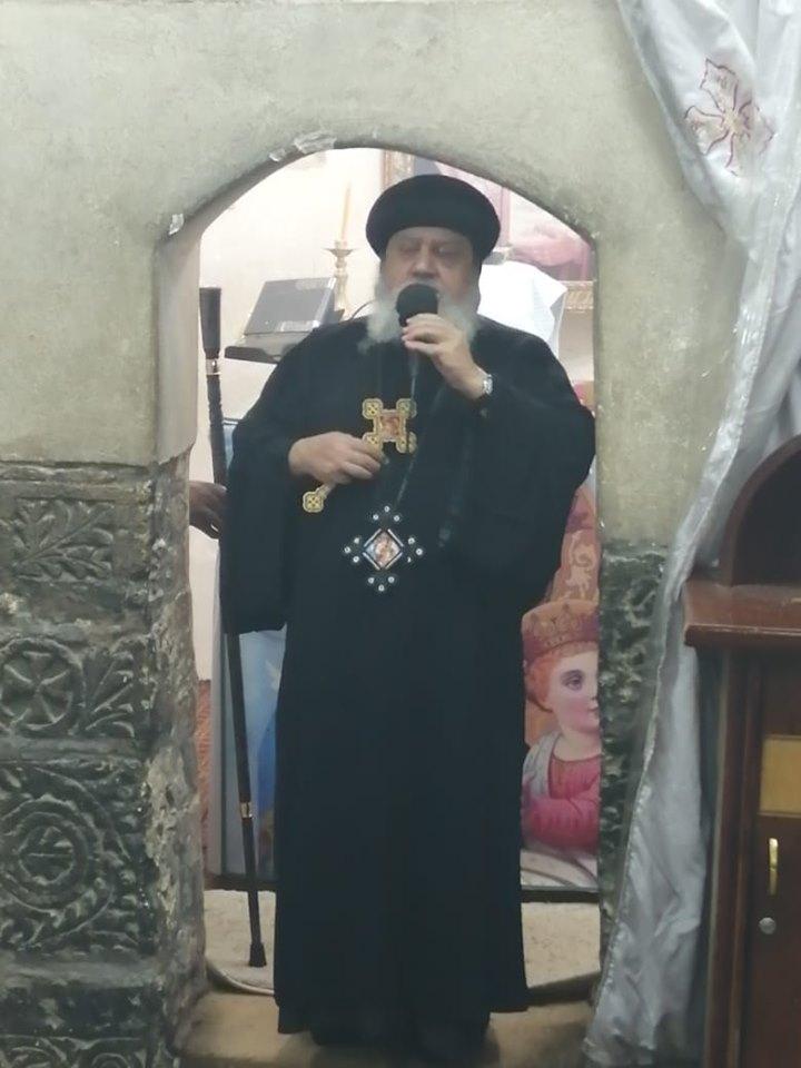 دير الجنادلة يبدأ احتفالاته بعيد حالة الحديد .. والأنبا أندرواس يترأس القداس بأسيوط (1)