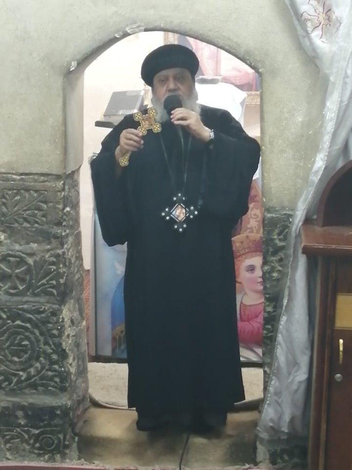 دير الجنادلة يبدأ احتفالاته بعيد حالة الحديد .. والأنبا أندرواس يترأس القداس بأسيوط (7)