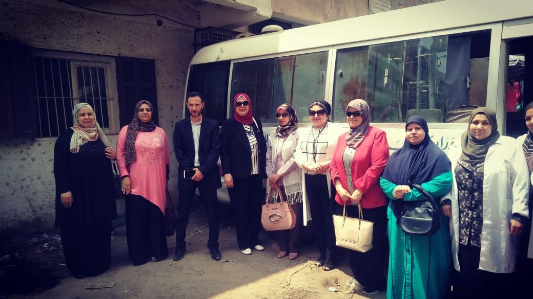 القومى للمرأة بالشرقية ينظم قوافل توعية فى اليوم الوطني لمناهضة ختان الإناث (3)