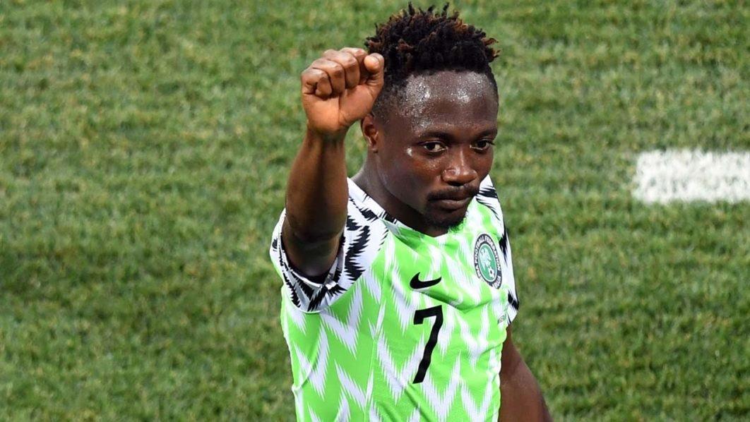 أحمد موسى لاعب منتخب نيجيريا