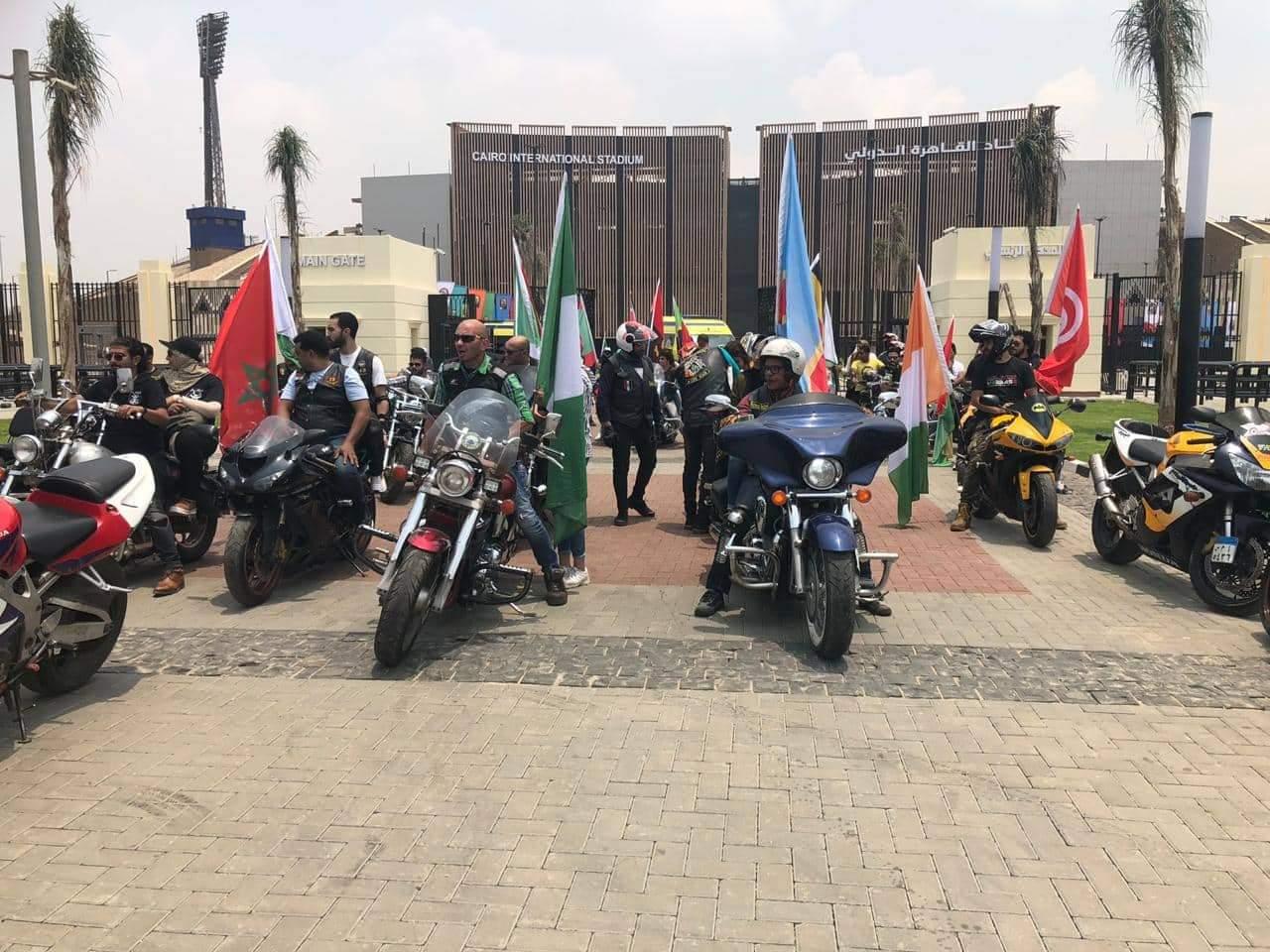 انطلاق مهرجان الدراجات النارية