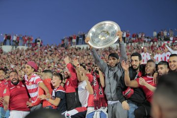 احتفالات الوداد بلقب الدوري المغربى (5)