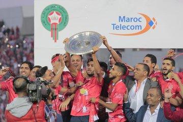 احتفالات الوداد بلقب الدوري المغربى (6)