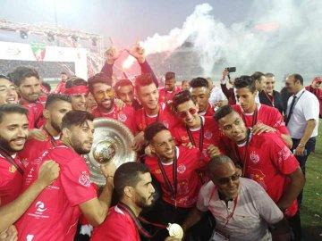 احتفالات الوداد بلقب الدوري المغربى (2)