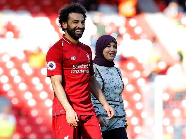 ماجى زوجة محمد صلاح