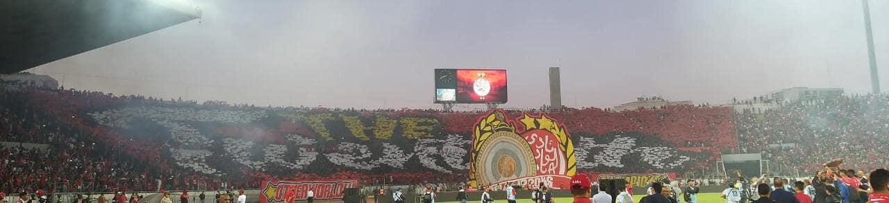 احتفالات الوداد بلقب الدوري المغربى (1)
