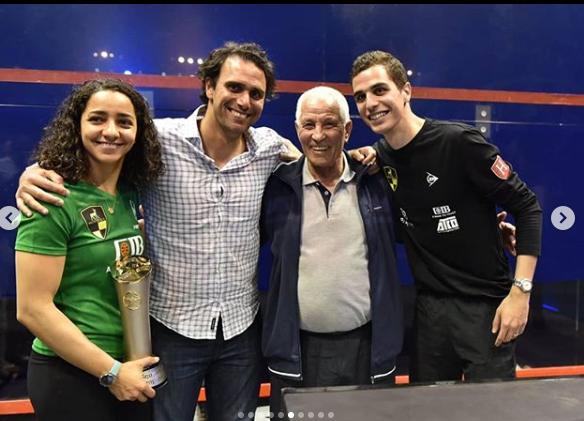 رنيم وعلي فج وكريم درويش من بطولة الجونة