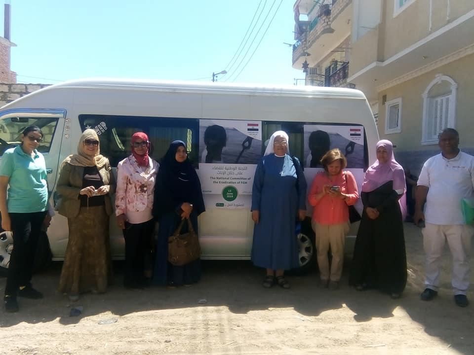القومي للمرأة بالأقصر يواصل حملات شهر بدور للقضاء علي ختان الإناث  (1)