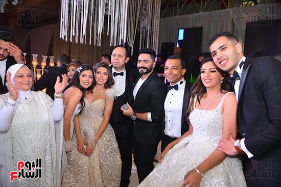 جانب-من-الحضور-فى-حفل-الزفاف