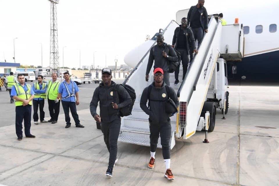 منتخب السنغال يصل القاهرة (2)