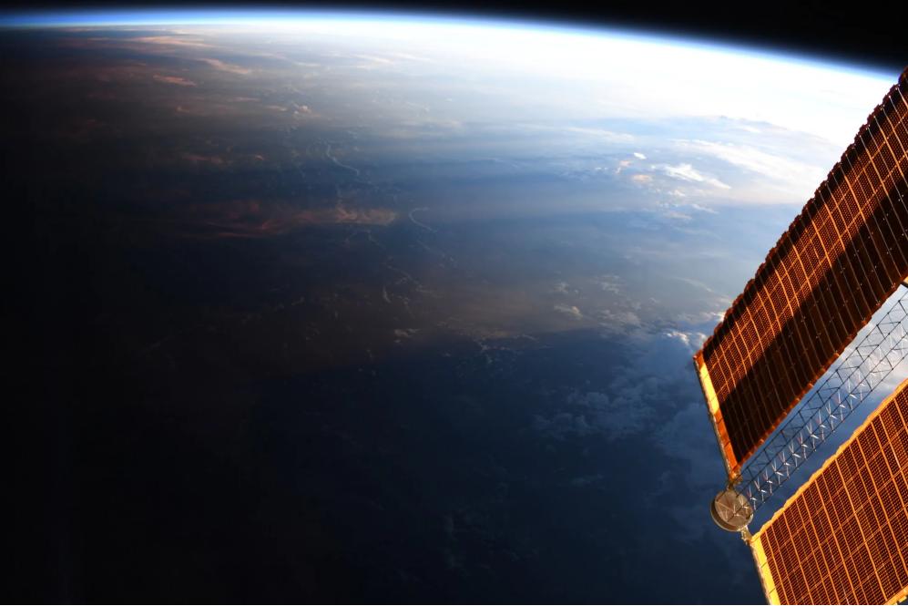 كوكب الأرض من الفضاء