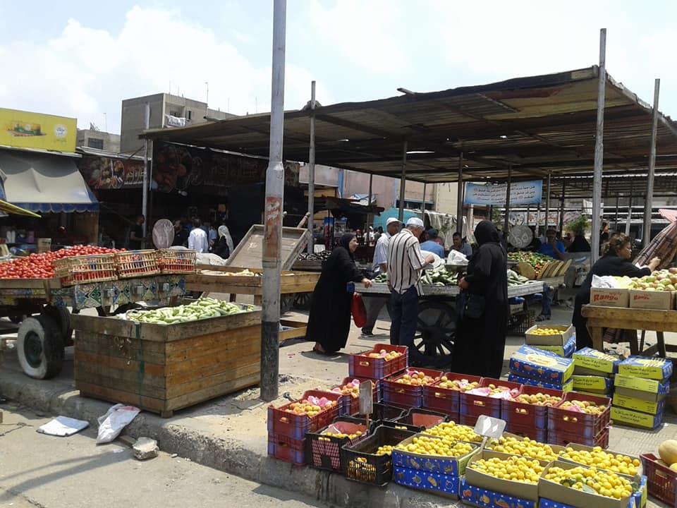وتخصيص باكيات بسوق الرضوان للباعة الجائلين (6)