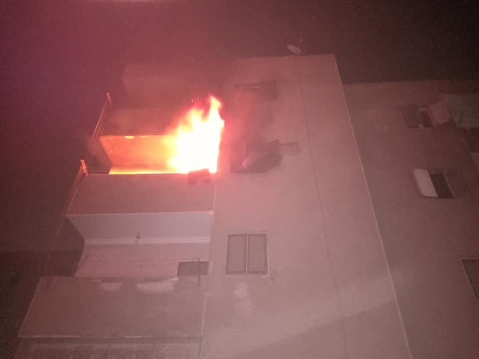 حريق بشقة سكنية بالعبور (4)