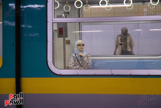 افتتاح محطة مترو الأهرام (28)
