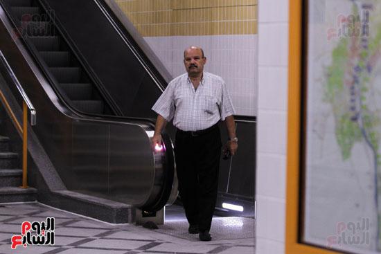 افتتاح محطة مترو الأهرام (34)