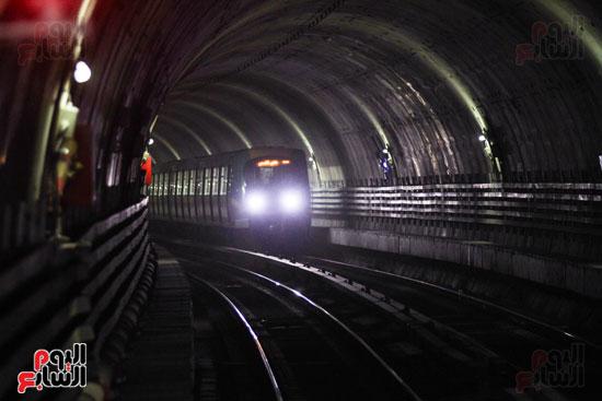 افتتاح محطة مترو الأهرام (35)