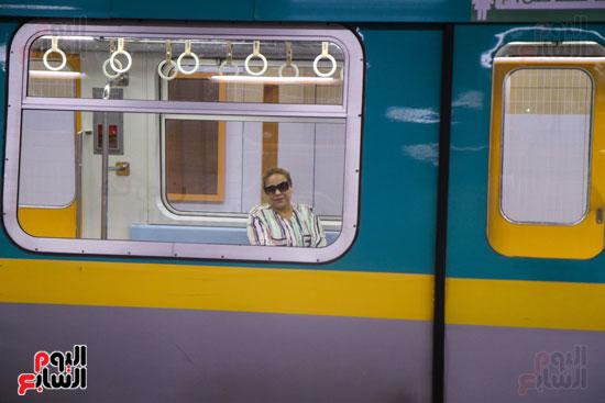 افتتاح محطة مترو الأهرام (27)