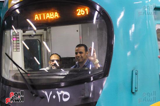 افتتاح محطة مترو الأهرام (39)
