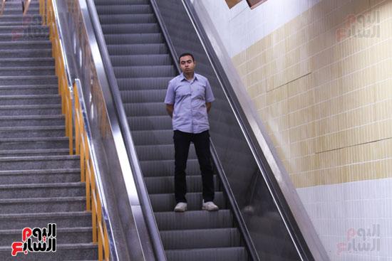 افتتاح محطة مترو الأهرام (37)
