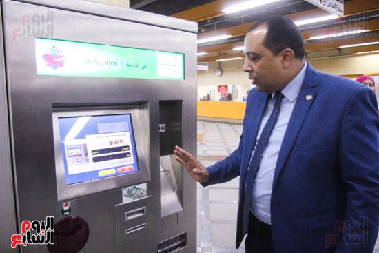 افتتاح محطة مترو الأهرام (30)