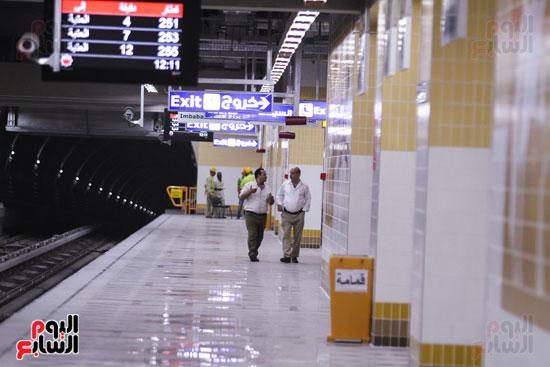 افتتاح محطة مترو الأهرام (32)