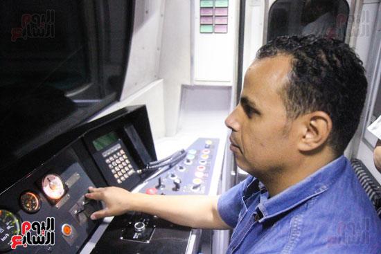 افتتاح محطة مترو الأهرام (41)