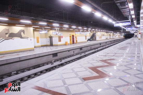 افتتاح محطة مترو الأهرام (25)