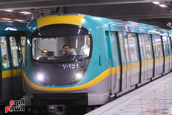 افتتاح محطة مترو الأهرام (38)