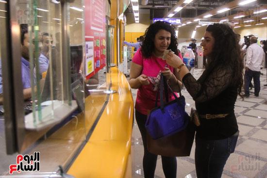 افتتاح محطة مترو الأهرام (13)