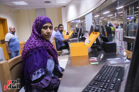 افتتاح محطة مترو الأهرام (22)