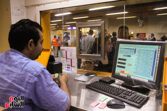 افتتاح محطة مترو الأهرام (21)