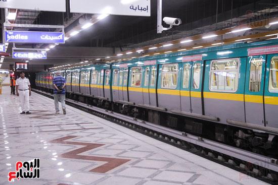 افتتاح محطة مترو الأهرام (26)