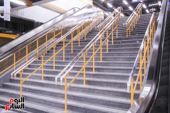 افتتاح محطة مترو الأهرام (31)