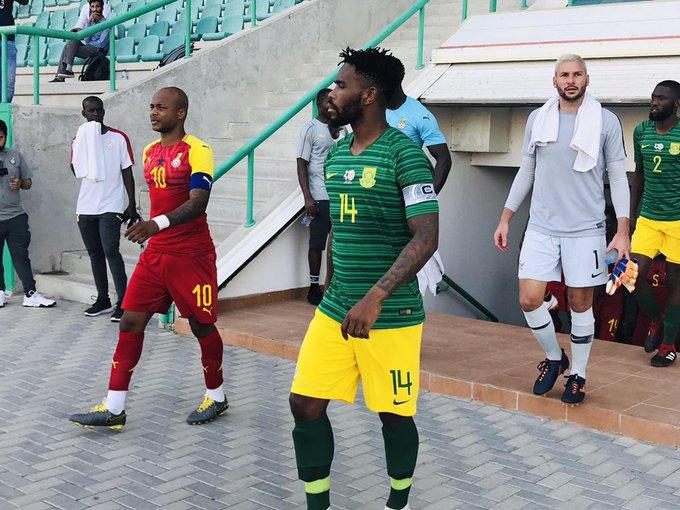 مباراة غانا وجنوب افريقيا