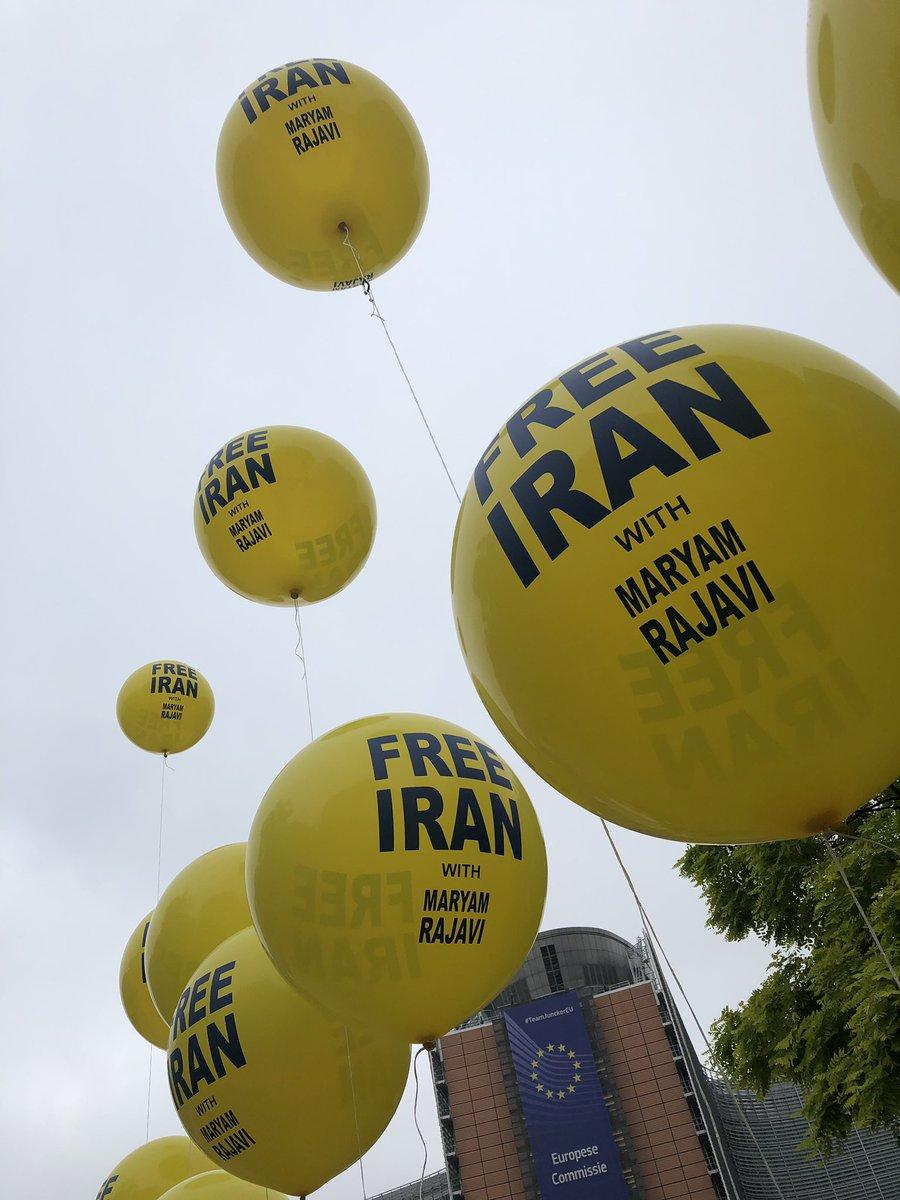 مظاهرات المعارضة من أجل حرية إيران وإسقاط نظام ولاية الفقيه