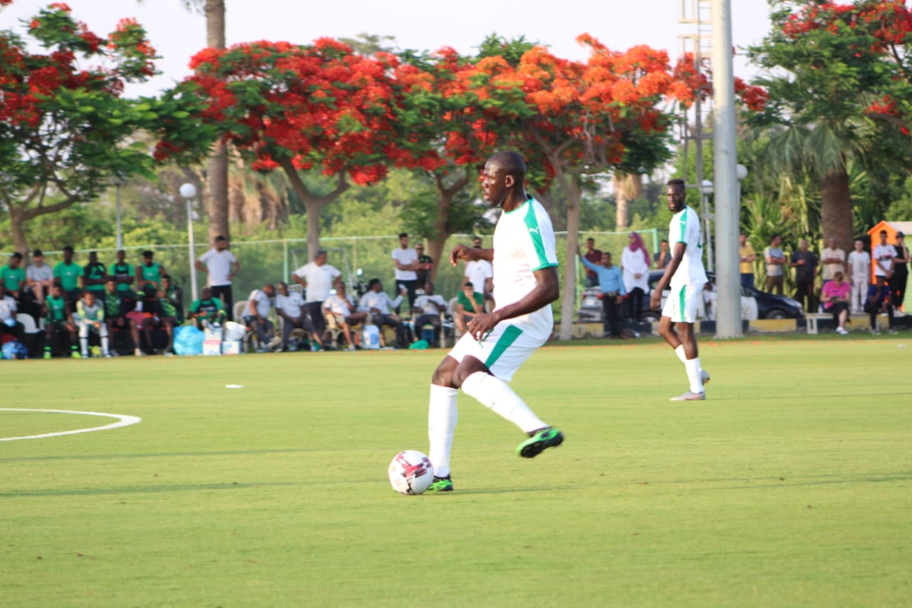 جانب من مباراة نيجيريا والسنغال (4)