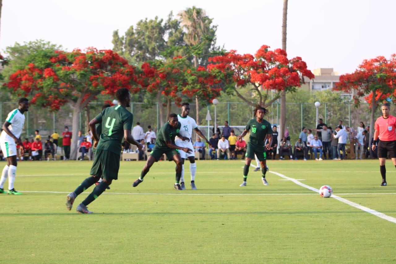 جانب من مباراة نيجيريا والسنغال (2)