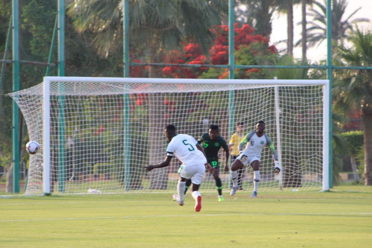 جانب من مباراة نيجيريا والسنغال (5)