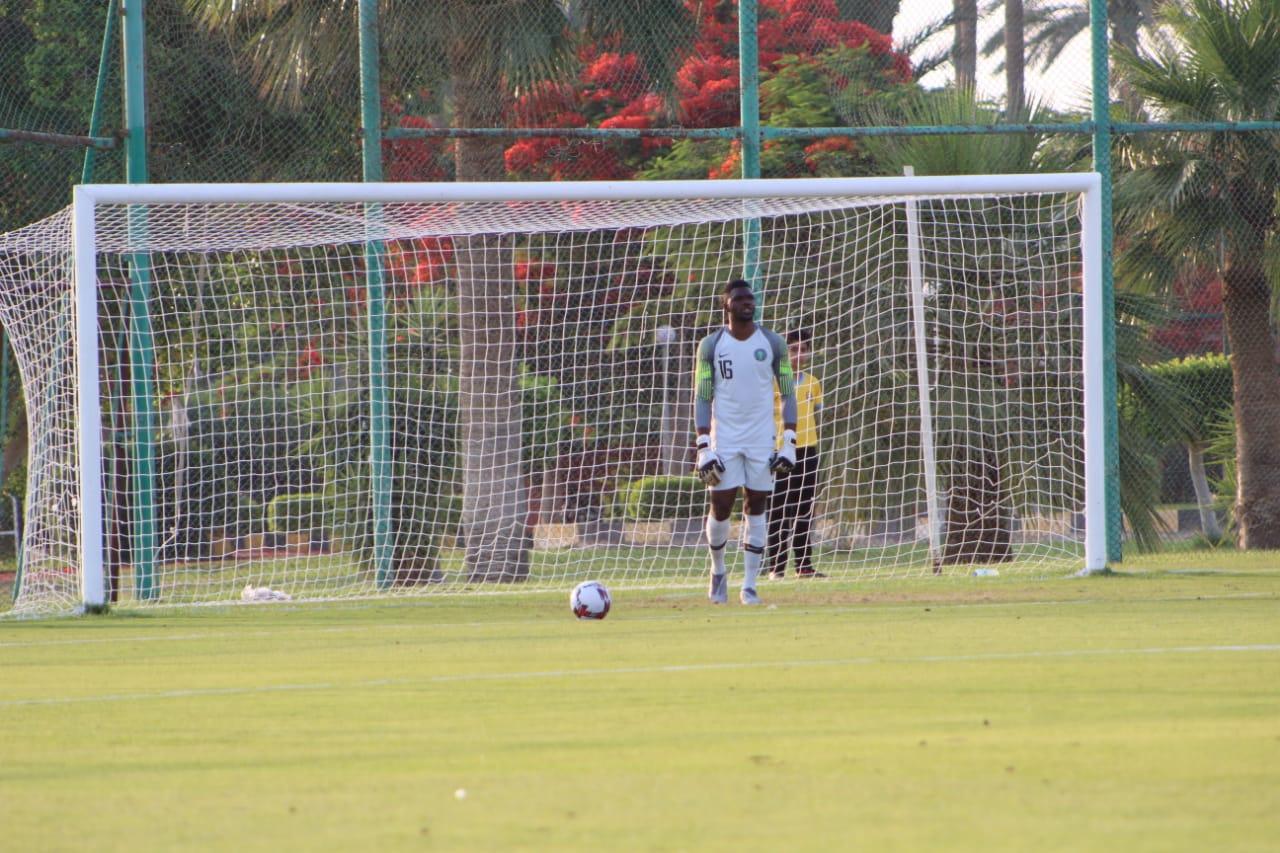 جانب من مباراة نيجيريا والسنغال (3)