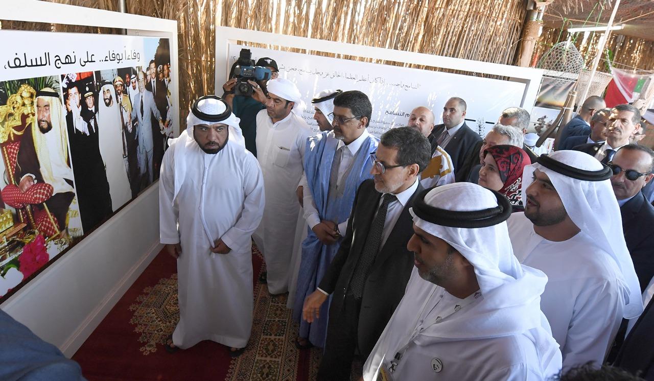 جولة رئيس الحكومة المغربية فى موسم طانطان